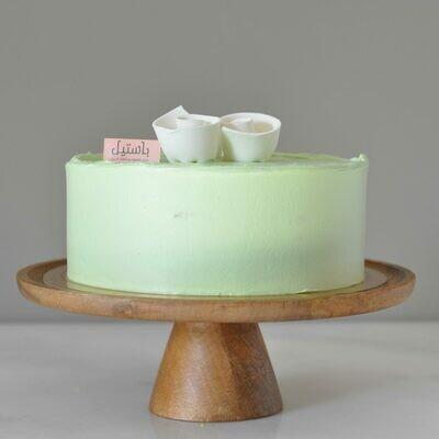 Pastel Green Cake