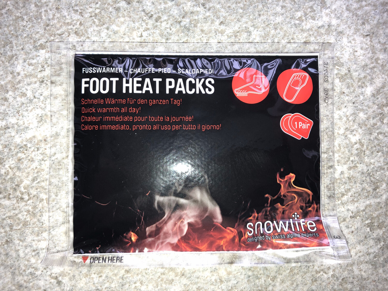 SNOWLIFE Foot Heat Packs