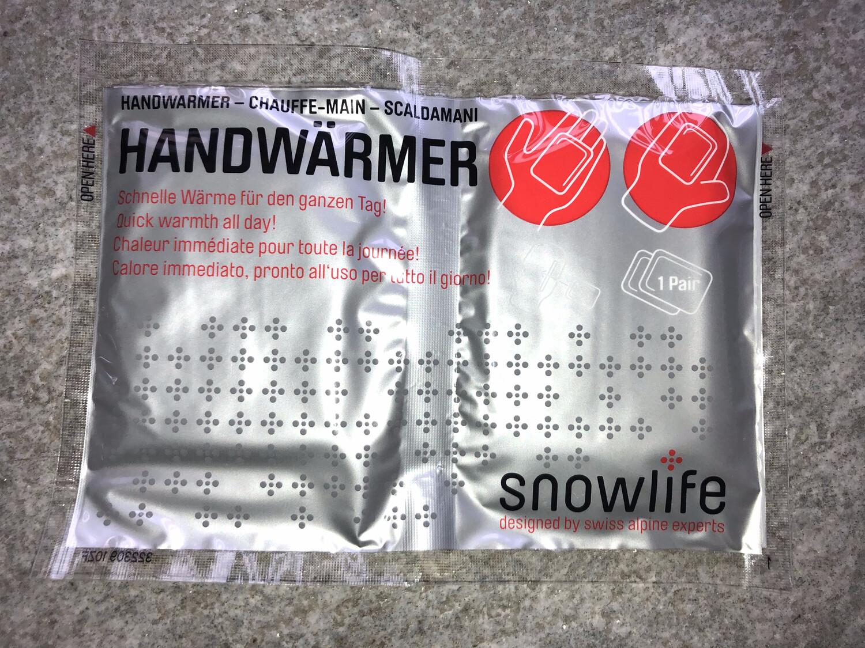 SNOWLIFE Hand Heat Packs