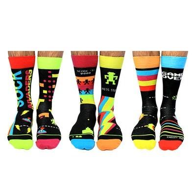 ODDSOCKS Men - Sock Invaders