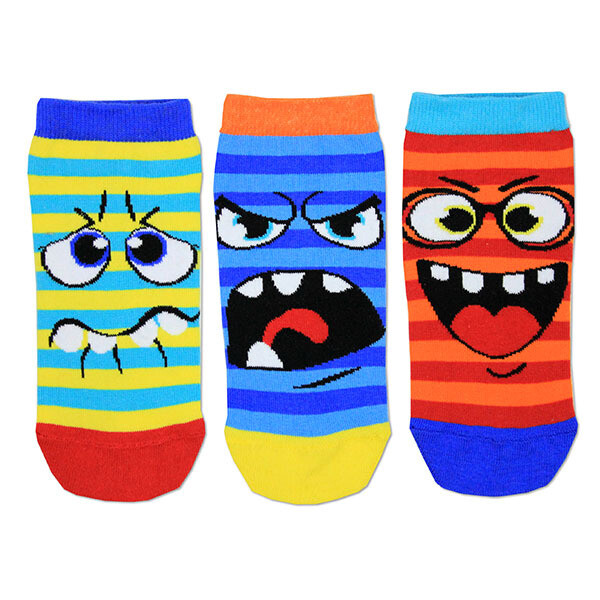 ODDSOCKS Sneaker Kids - Faces