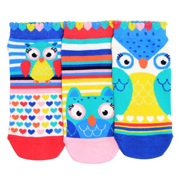 ODDSOCKS Sneaker Kids - Owls