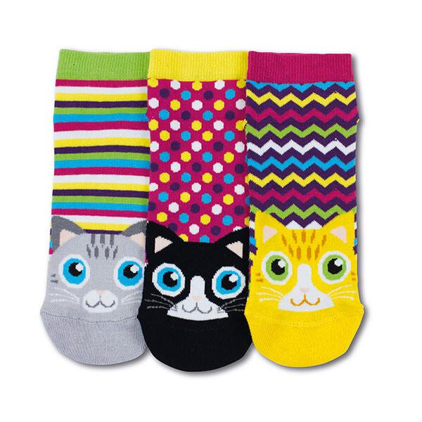 ODDSOCKS Sneaker Lady - Cats