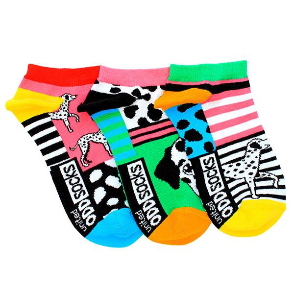 ODDSOCKS Sneaker Lady - Dalmatian