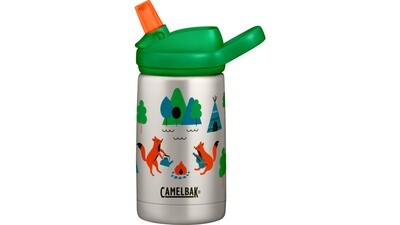 CAMELBAK Eddy+ Kids Vakuumisoliert 0.35L- Camping Foxes