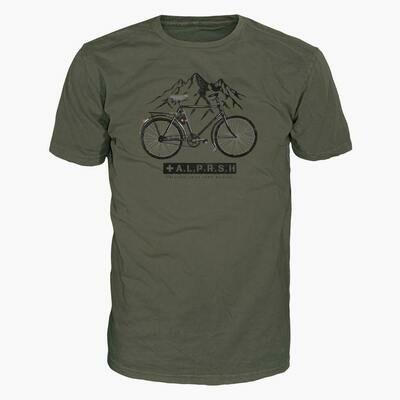 ALPRAUSCH Militärvelo T-Shirt Men