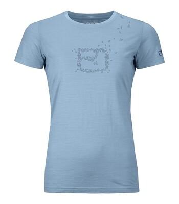ORTOVOX Cool Leaves T-Shirt Lady