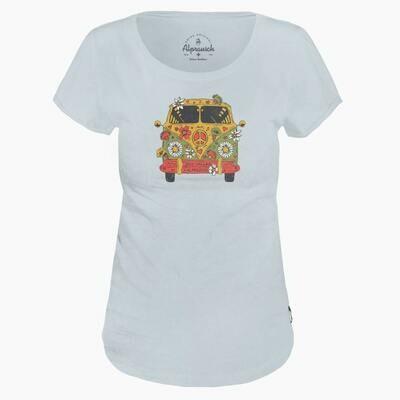ALPRAUSCH Hippie Bus T-Shirt Lady