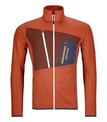ORTOVOX Fleece Grid Jacket Men