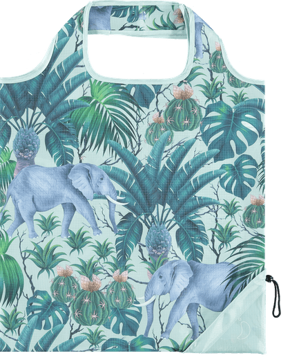 CHILLY'S Reusable Bag - Tropical Elephant
