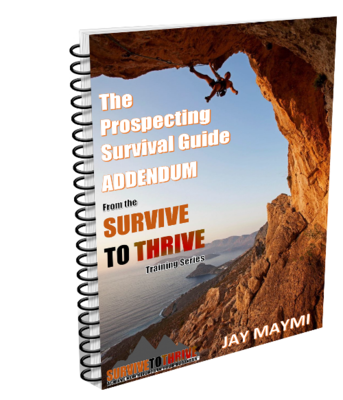 THE PROSPECTING SURVIVAL GUIDE BOOTCAMP WEBINAR#1 ADDENDUM (DOWNLOAD)