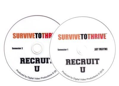 RECRUIT U TRAINING - VISUAL (SEMINARS 1 & 2)  DOWNLOAD ONLY