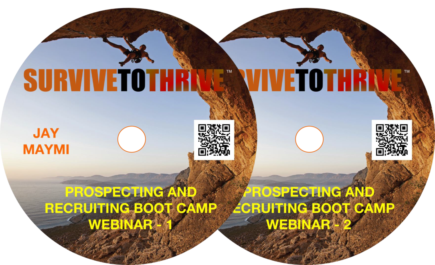 THE PROSPECTING SURVIVAL GUIDE BOOTCAMP WEBINARS 1 & 2 - DOWNLOAD ONLY