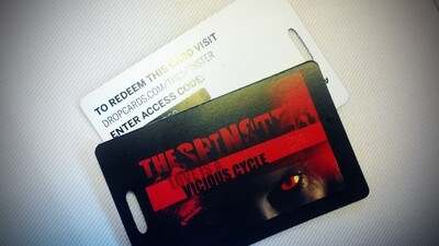 The Spinster Digital Download Card ON SALE