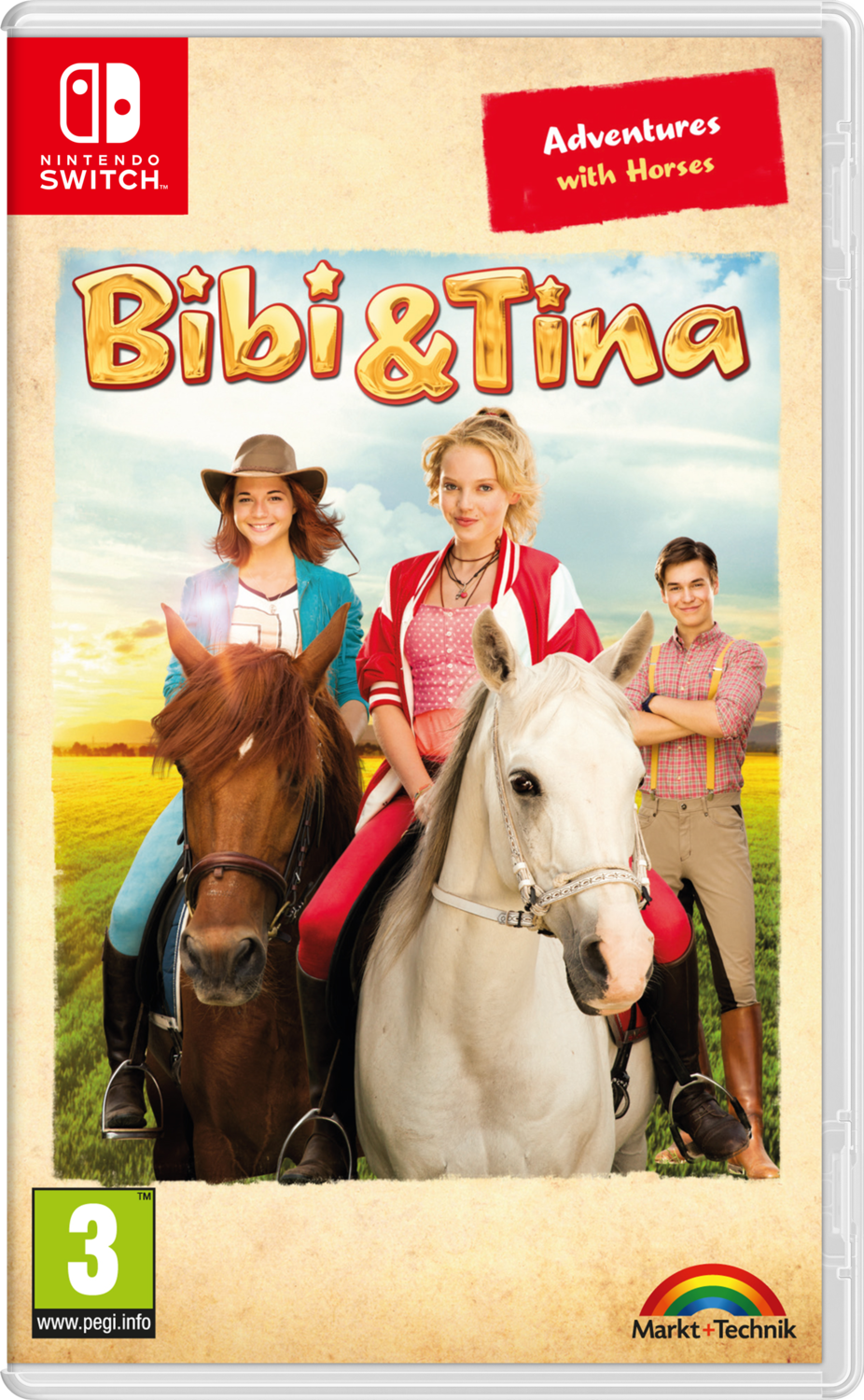 Bibi & Tina: Adventures with Horses (Switch) Game