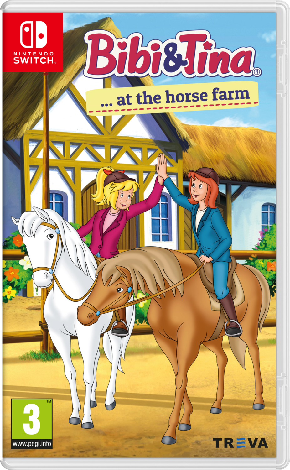 Bibi & Tina at the Horse Farm (Switch) Game