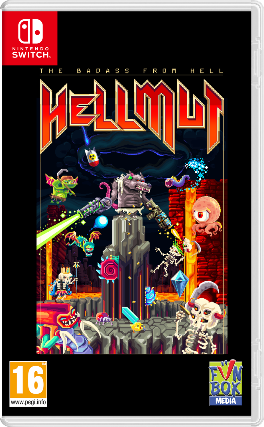 Hellmut: The Badass from Hell (Switch) Game
