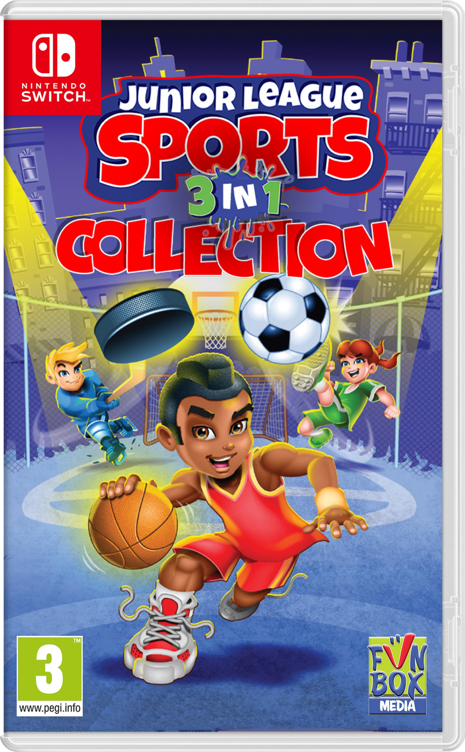 Junior League Sports 3-in-1 Collection (Nintendo Switch) Game