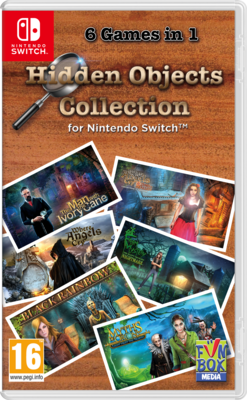 Hidden Objects Collection for Nintendo Switch Game