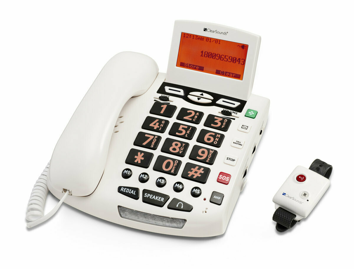 CSC600ER UltraClear Amplifying Emergency Connect Speakerphone