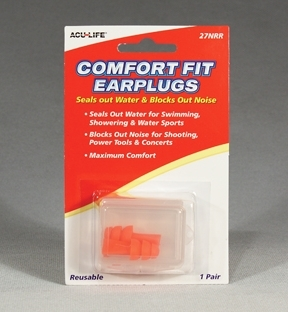 Comfort fit Silicone Ear Plugs