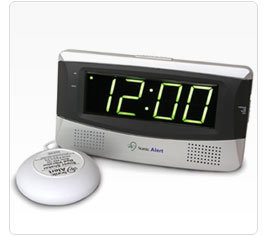 SB300ss Sonic Boom Alarm Clock with Super Bed Shaker