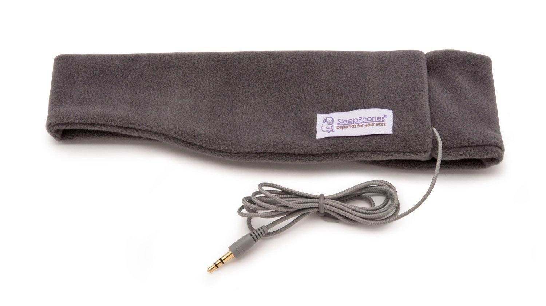 SleepPhones Classic Soft Grey Medium (most popular size)
