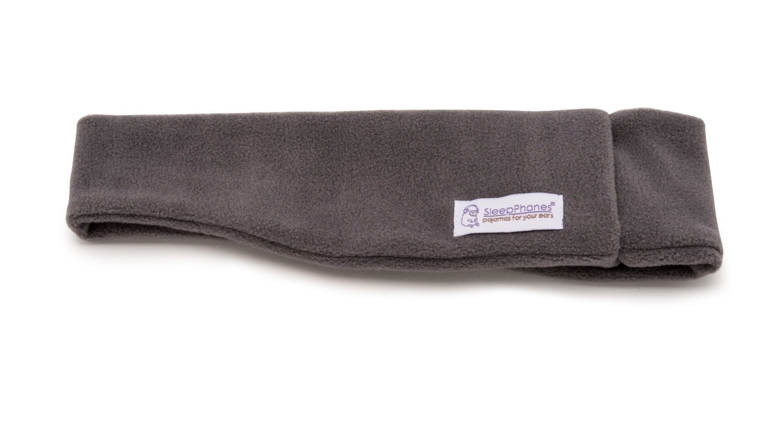 SleepPhones Simple Soft Grey Medium (most popular size)