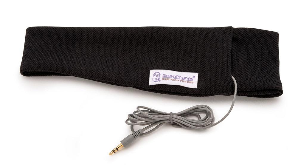 SleepPhones Classic Midnight Black Small