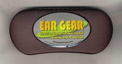 Ear Gear Storage Case - Burgundy