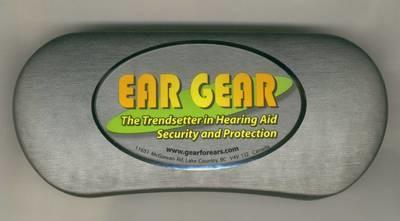 Ear Gear Storage Case - Silver