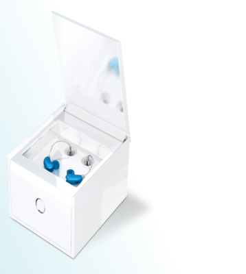 PerfectClean Hearing Aid dryer & disinfectant machine