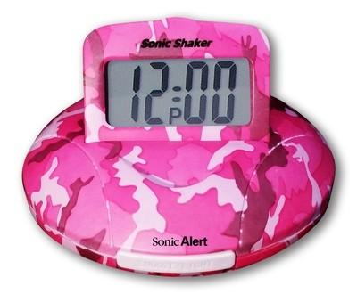 SBP100C Sonic Shaker Vibrating Travel Alarm Clock