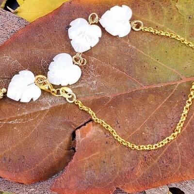 Shell Leaves Bracelet