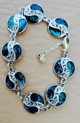 Blue Shells Bracelet