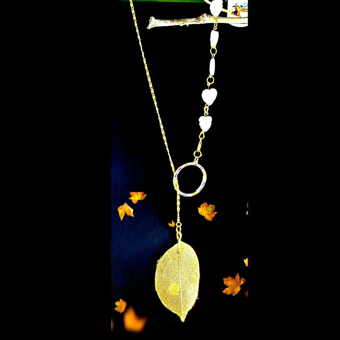 Shell Leaves Necklace