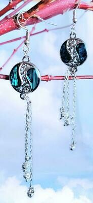 Blue Shells Earrings
