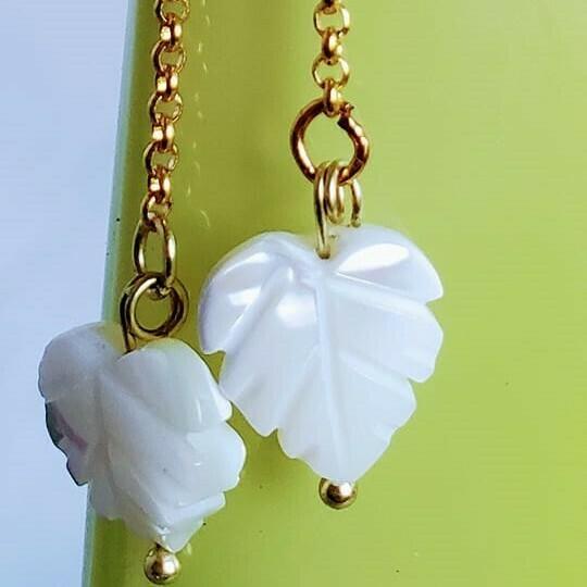 Shell Leaves Earrings