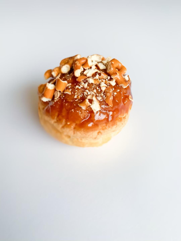 Salted Caramel Cream Puffs