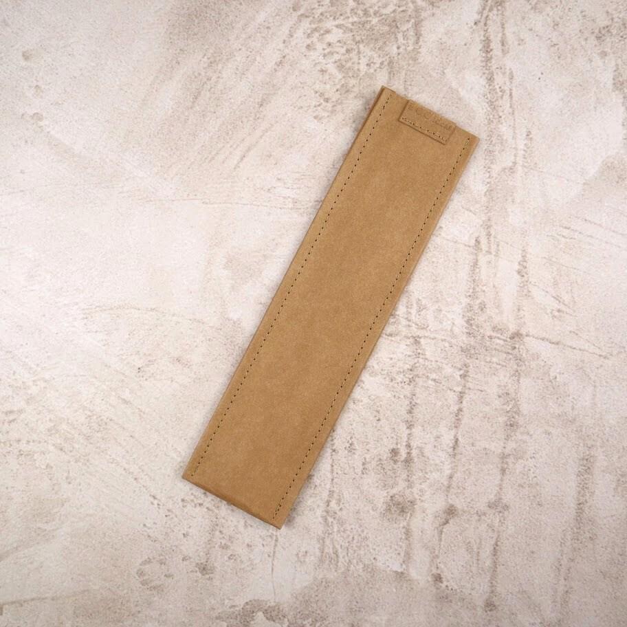 Чехол из текстильного крафта для зубных щеток и многоразовых приборов XS 24,5*6-7 см.