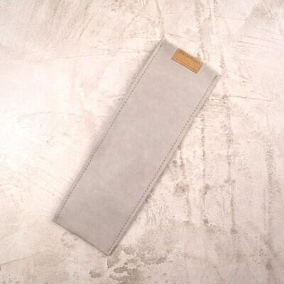 Чехол из моющегося крафта для зубных щеток и многоразовых приборов M 24,5*8-9 см.