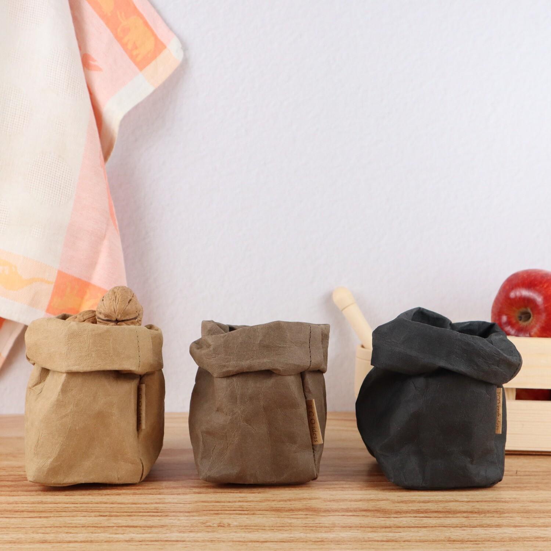 Мешок из текстильного крафта XS 19*8*8 см.