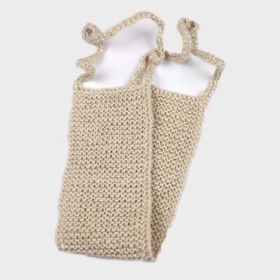 Мочалка для тела из мягкого джута