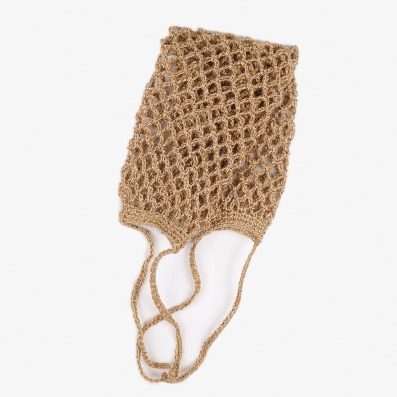 Мочалка для тела из джута