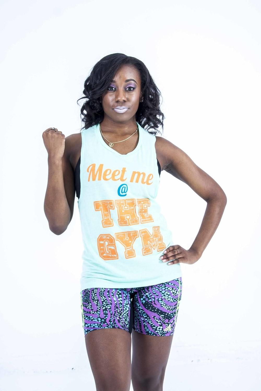 PYP Mint Green Muscle shirt