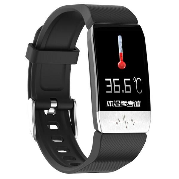 T1 Temperature, Waterproof, Pedometer Pacemaker ECG Body Fitness Smart watch