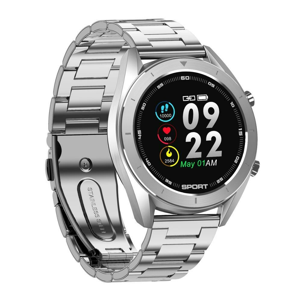 DT99 IP68 Waterproof Heart Rate Blood Pressure Monitor Unisex Smart Watch