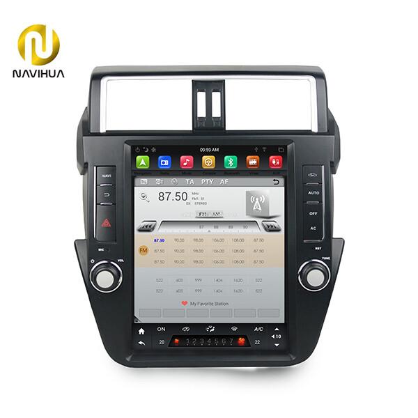 12.1 inch navi toyota Prado android car stereo tesla radio(Screen dashboard)
