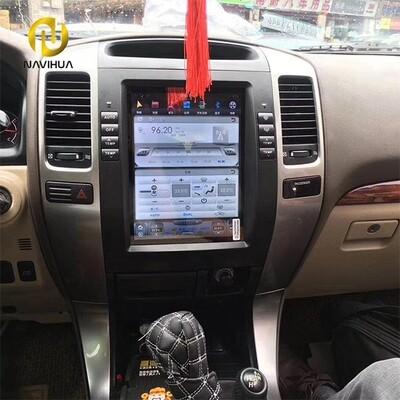 10.4 Navi Toyota Prado android car stereo tesla radio 2002-2009(for Screen dashboard)