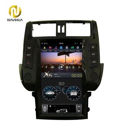 13.6 inch Navi Toyota Prado android car stereo tesla radio 2010-2013(Screen dashboard)